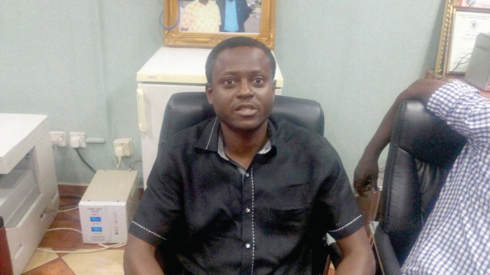 Mr  Mark Osei Boakye — The Secretary of aboa