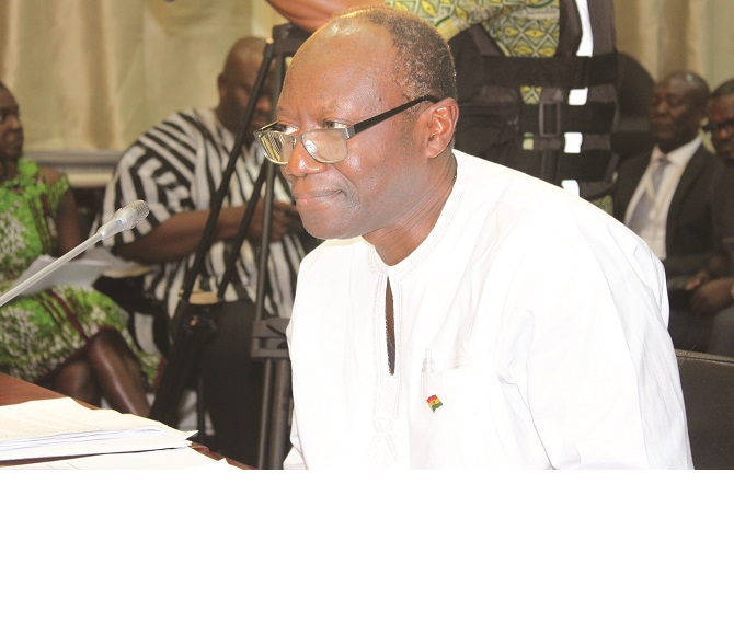 Mr Ken Ofori-Atta — Minister of Finance