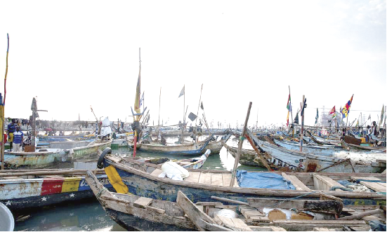 Fisher folks across the country's coastal regions have started reporting cases of low catch despite the government banning fishing activities to help improve fishing activities.