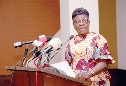 Ms Benonita Bismark, CEO, Ghana Shippers' Authority
