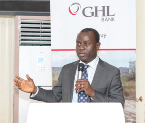 Mr Kojo Addo Kufuor— Executive Director, Business of GHL Bank.