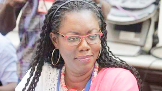 Mrs Ursula Owusu-Ekuful — Minister for Communication