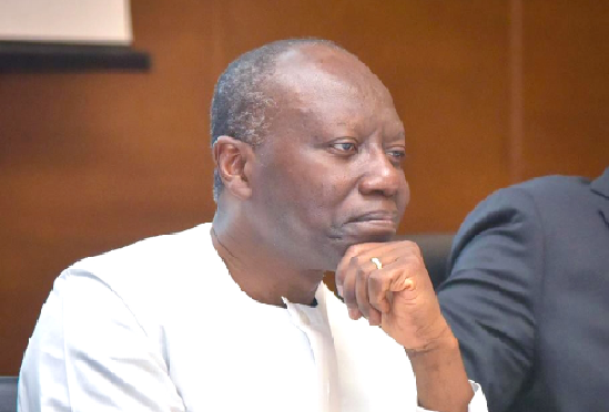 Mr Ken Ofori-Atta — Finance Minister