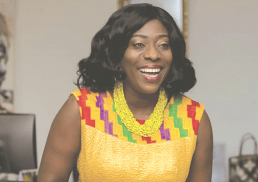 Mrs Catherine Abelema Afeku — Minister of Tourism, Arts and Culture