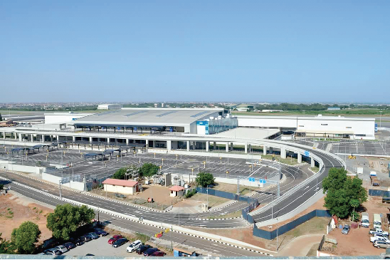 Parts of the revenue from airport tax is to be used to service loans secured for the new airport