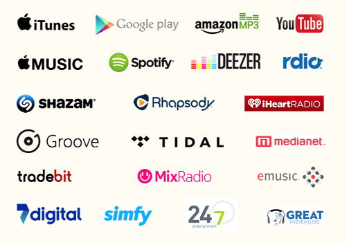 There is now a wide array of music sales and distribution stores online to choose from