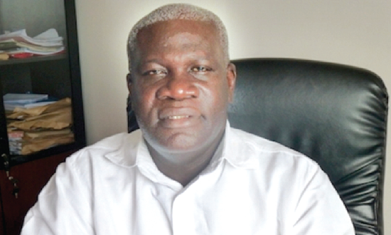 Mr Solomon Kotei —  General Secretary, ICU