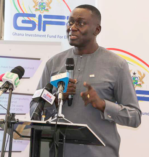Mr Abraham Kofi Asante – The CEO, GIFEC.