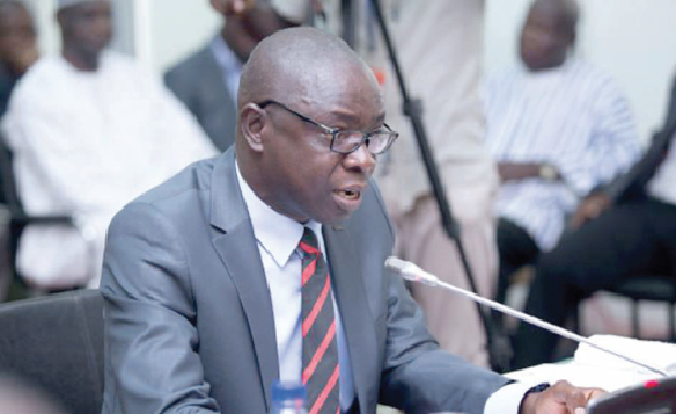 Mr Kwaku Asomah-Cheremeh  — Minister of Lands and Natural Resources
