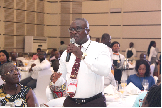 Mr Eric Amponsah Boateng, Tax Consultant, PKF Ghana, speaking at the forum.