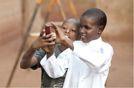 Children love it when they have access to a phone. But what are they watching on it?
